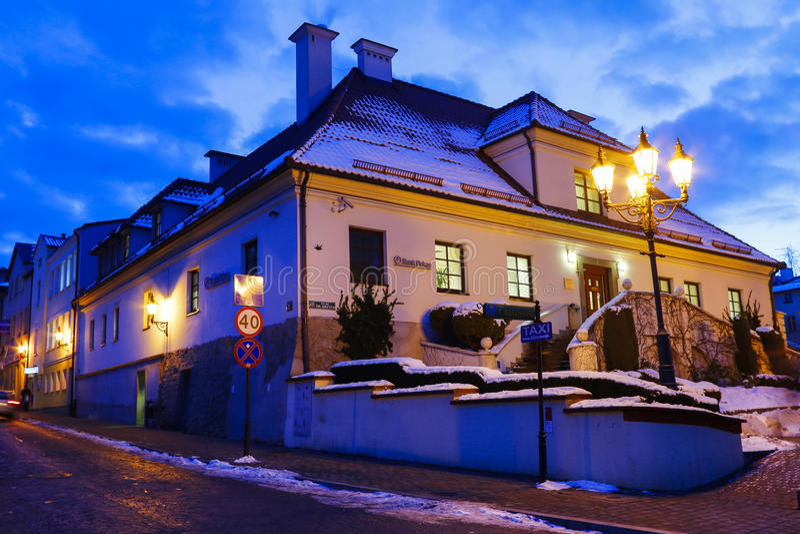 Salt min och den historiska Regis Shaft, Wieliczka, Polen arkivfoto