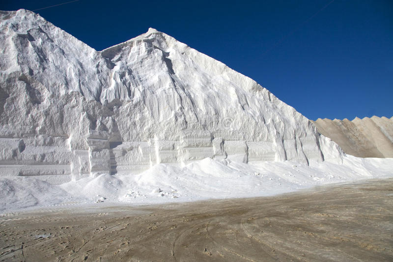 Download Salt mine in Sardinia stock image. Image of white, sardinia - 23289963