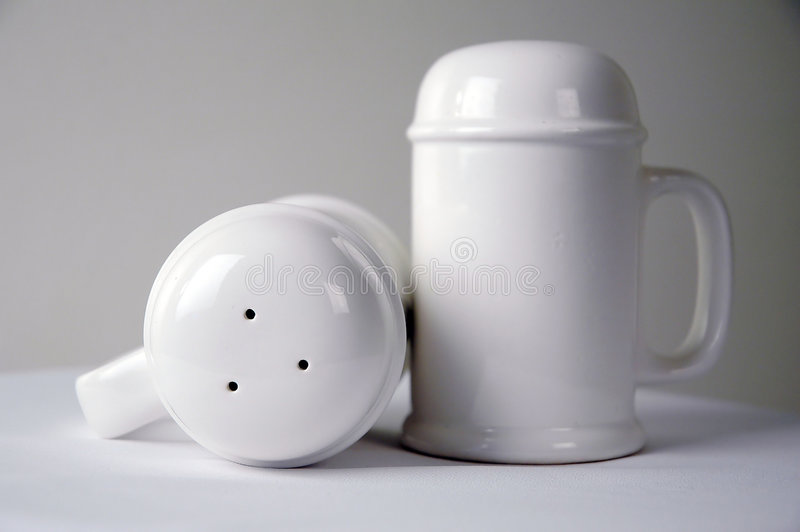 Salt and pepper-2 royalty free stock photo