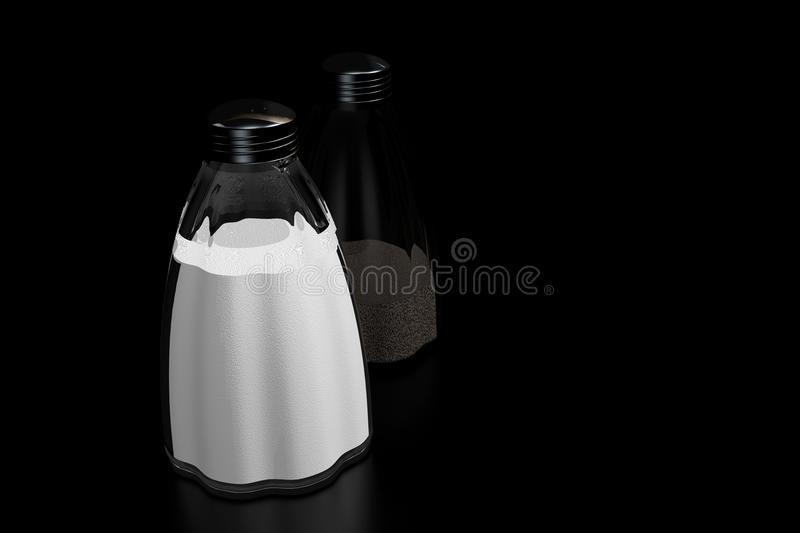 Download Salt and Pepper stock illustration. Image of savoury - 21955254