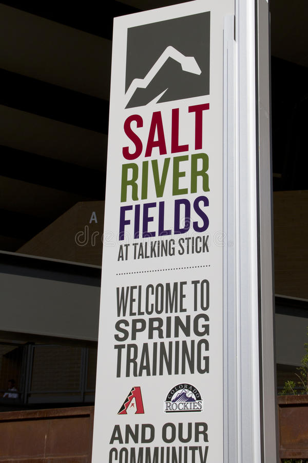 Download MLB Cactus League Spring Training Editorial Stock Image - Image: 29921219