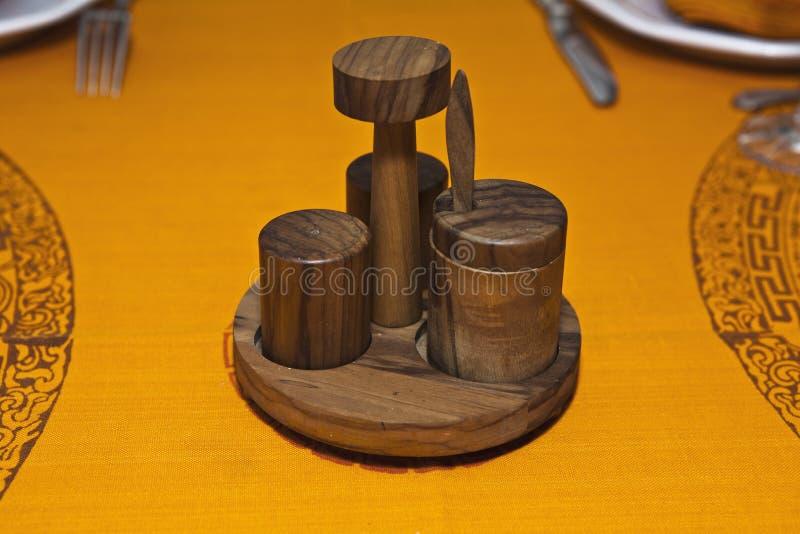 Salt shaker stock image