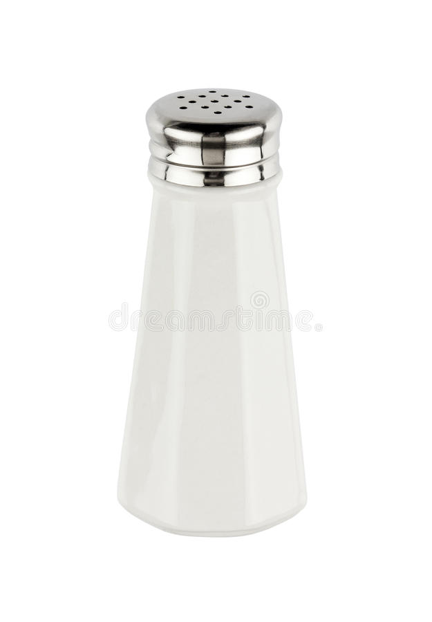 Salt shaker isolated royalty free stock photos