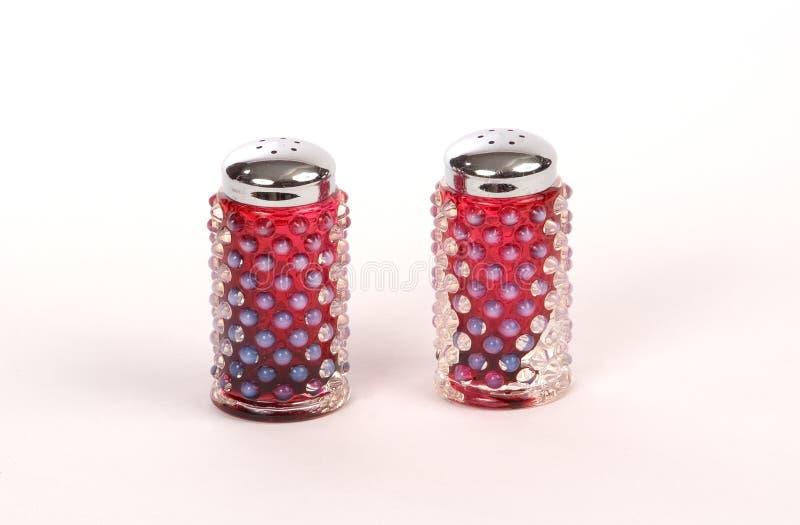 Salt Shakers Royaltyfri Fotografi