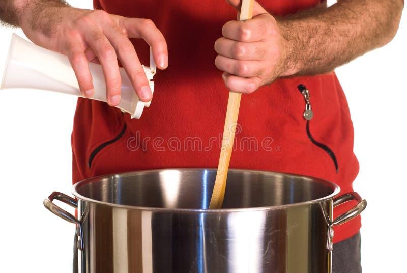 Salt Soup Royaltyfria Bilder