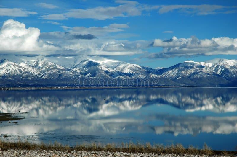 salt stor lake royaltyfri foto