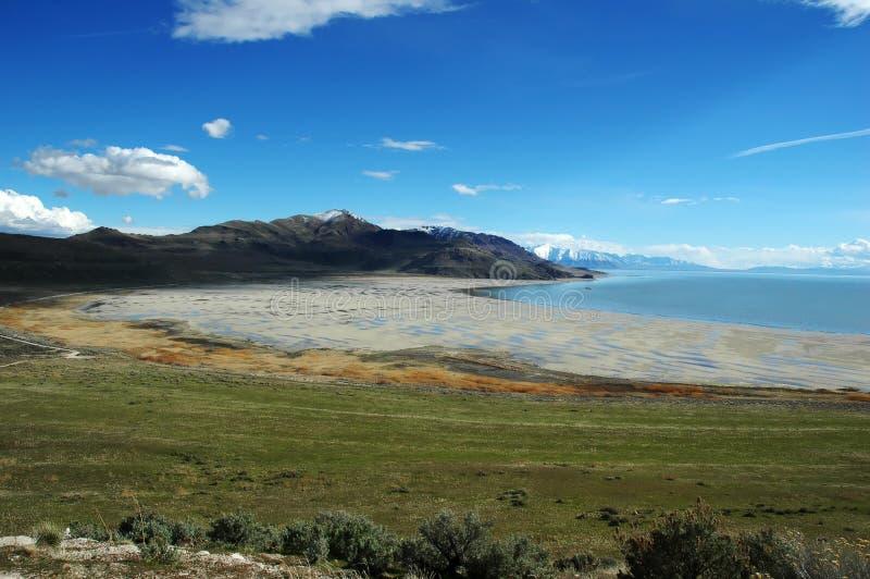 salt stor lake royaltyfri bild