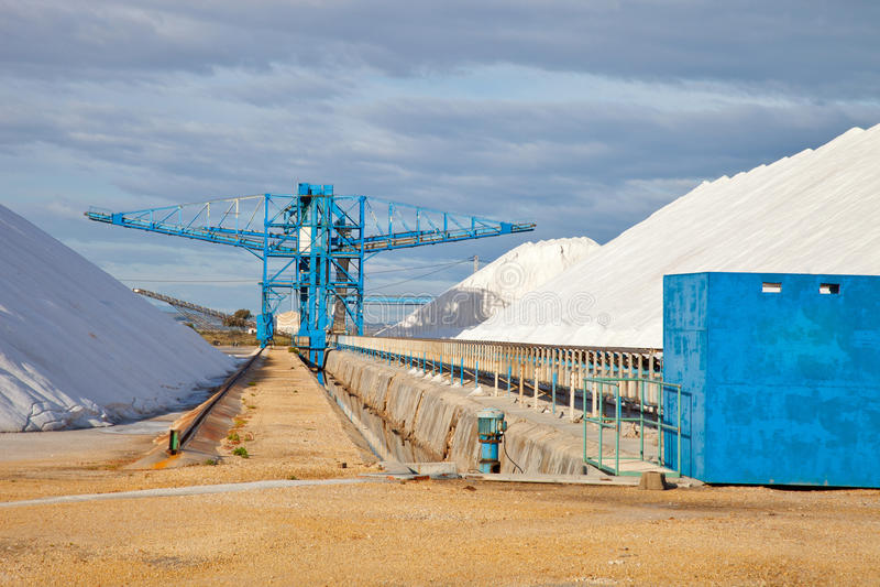 Download Salt store stock image. Image of salting, open, conveyor - 25662377