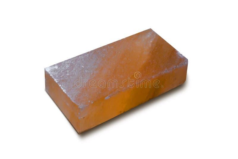 Salt tegelsten - tegelplatta royaltyfri fotografi