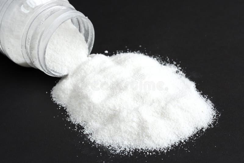 salt white arkivbild
