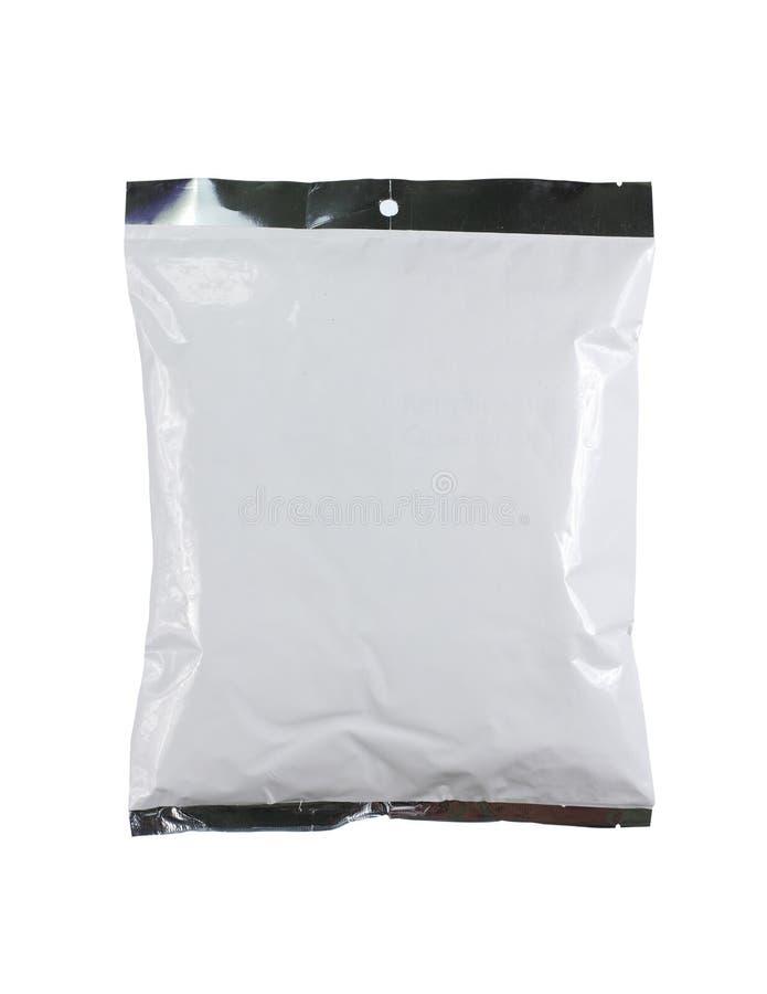 Salta el paquete plástico imagen de archivo