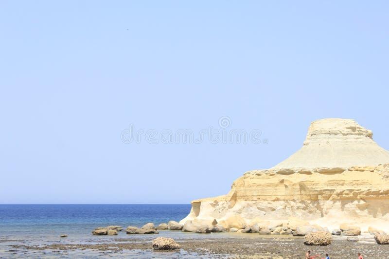 Salta Malta royaltyfri foto