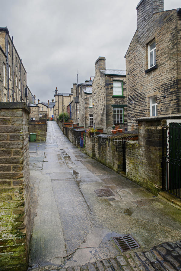 Saltaire Backstreet fotografia de stock royalty free