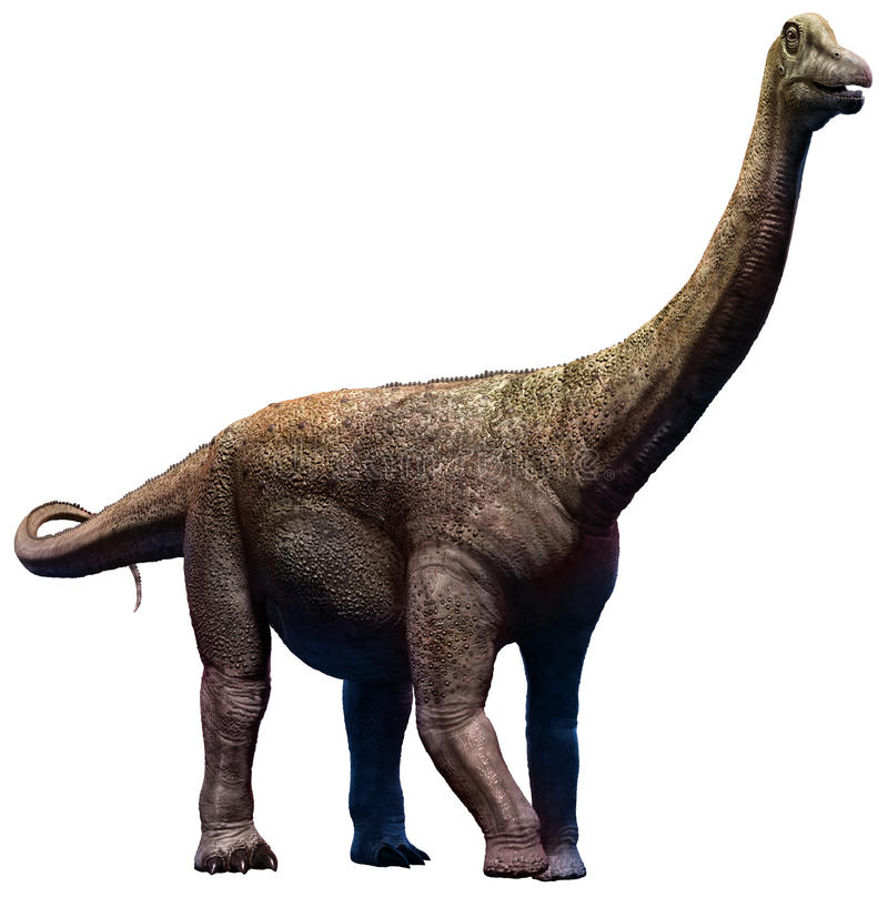 Saltasaurus illustration de vecteur