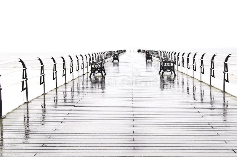 Saltburn Pier stockfotos