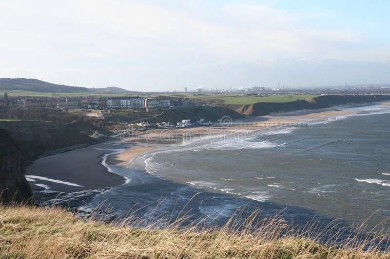 Download Saltburn by The Sea stock photo. Image of north, camera - 1820158