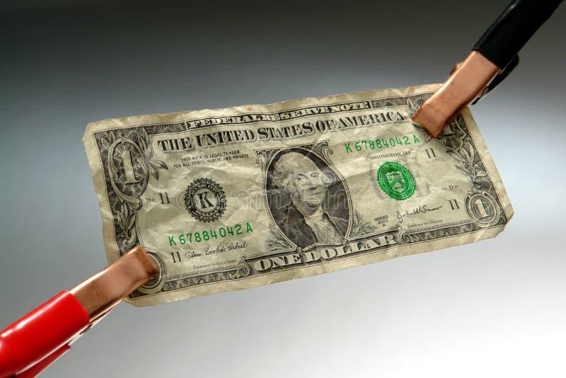 Salte comenzando la economía imagen de archivo libre de regalías