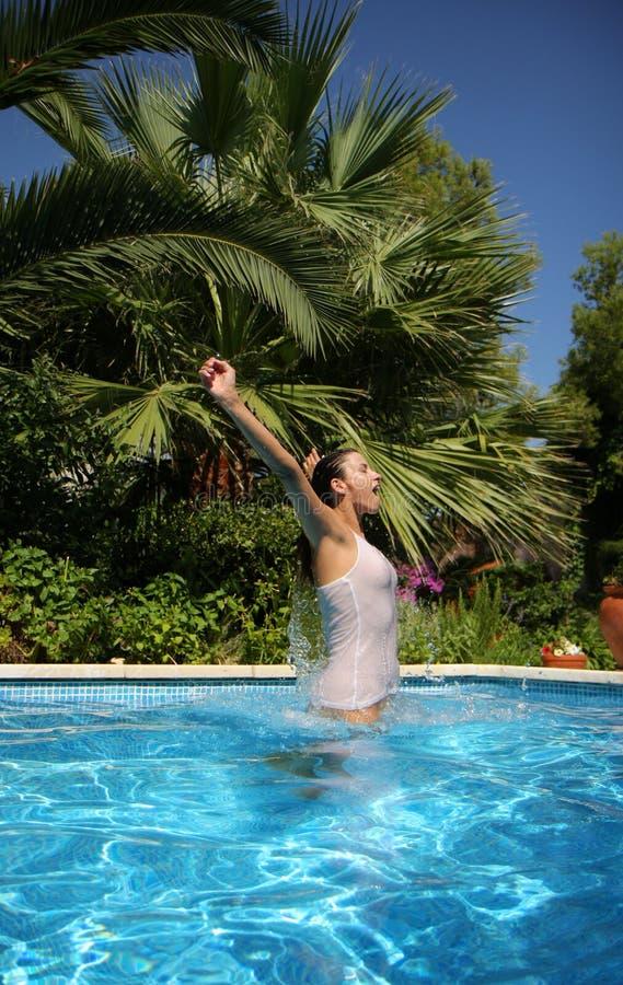 Salte la piscina imágenes de archivo libres de regalías