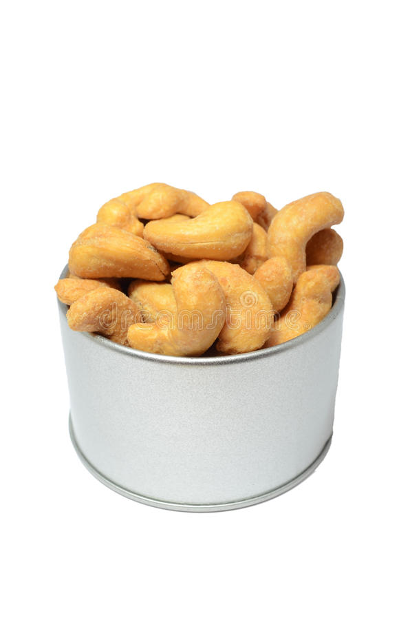 Salted cashew nut royalty free stock images