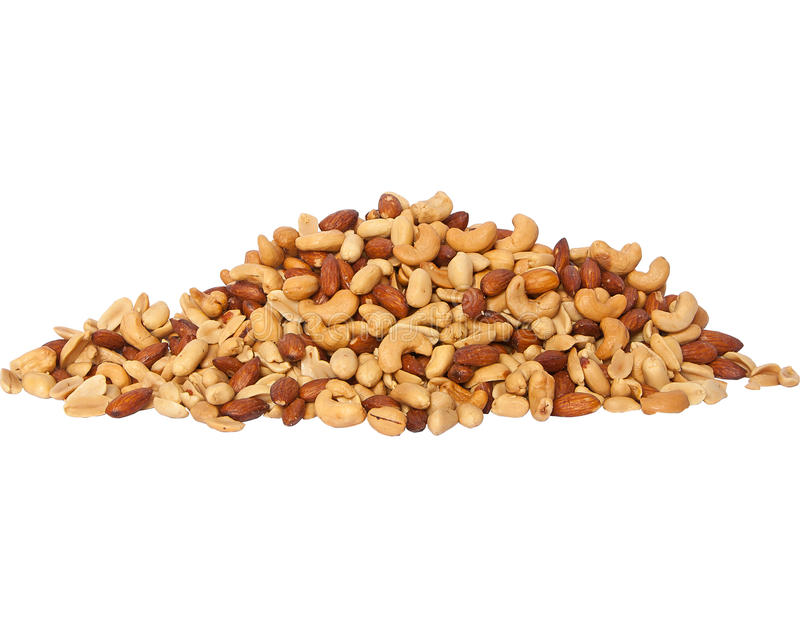 Download Salted Mixed Nuts stock image. Image of brown, caramel - 25131335