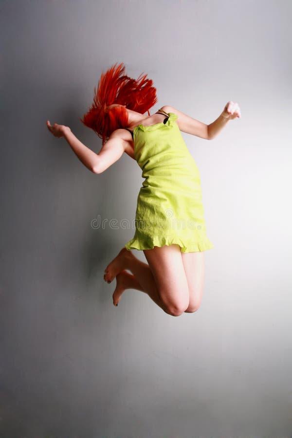 Salti per la gioia fotografie stock