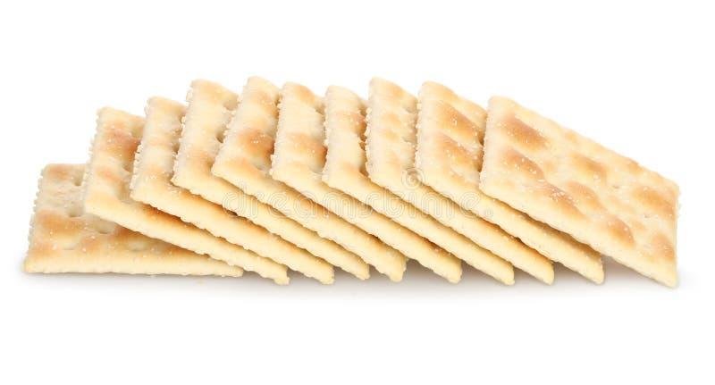 Saltine krakers fotografia stock