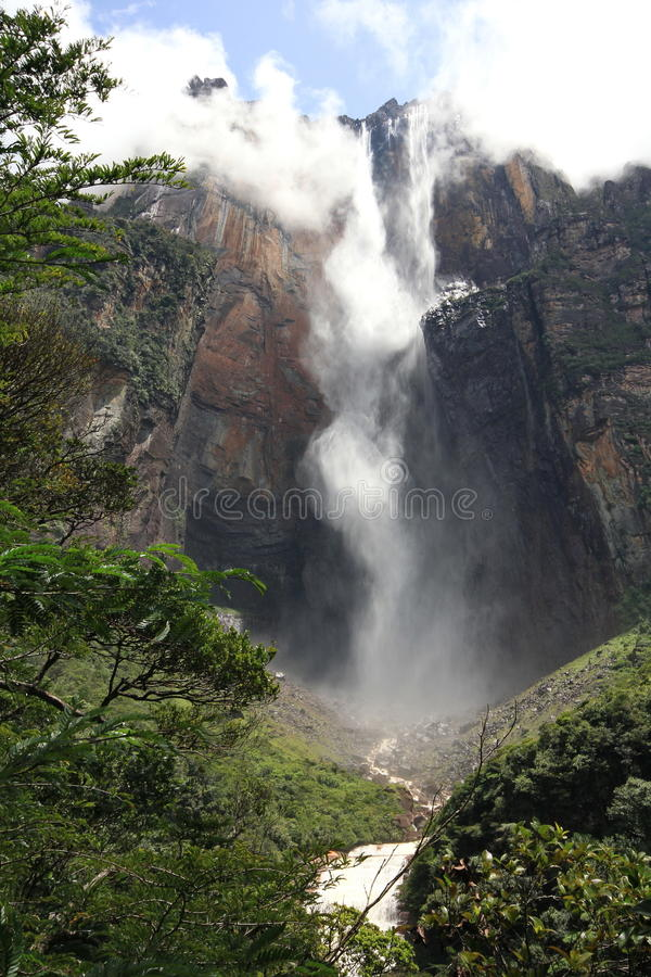 Salto Angel, Venezuela stock images