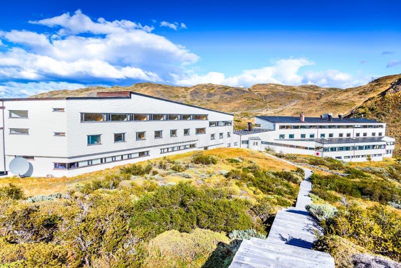 Salto Chico, Torres del Paine, Patagonia o Chile fotos de stock royalty free