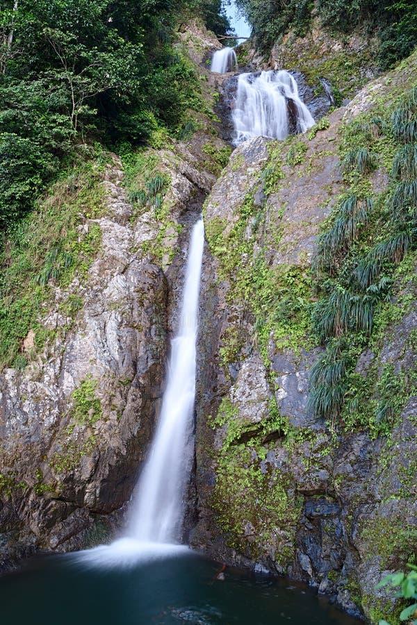 Salto de Dona Juana Waterfall, Orocovis, Puerto Rico imagen de archivo libre de regalías