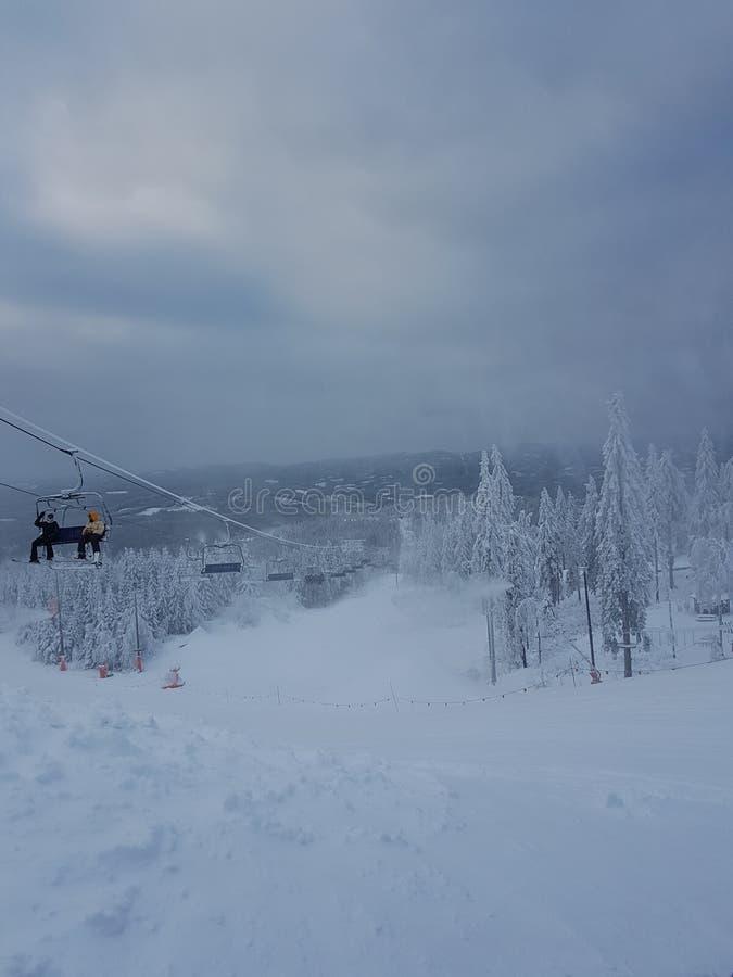Salto de esqui de Holmenkollen imagem de stock royalty free