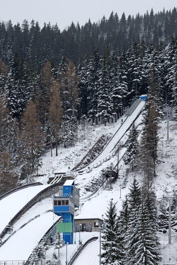 Salto de esqui Zakopane imagens de stock