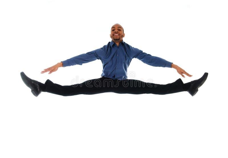 Salto de la danza imagen de archivo