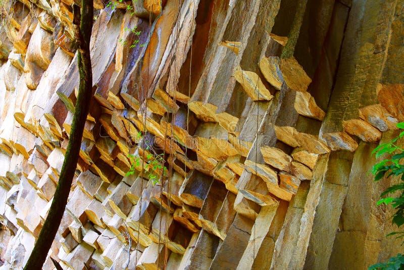 Salto de San Anton dropp arkivbilder