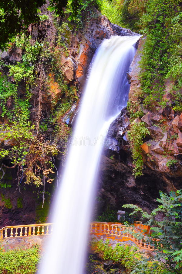 Salto de San Anton I royaltyfria bilder