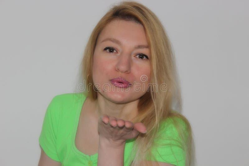 Salto del bacio immagini stock libere da diritti