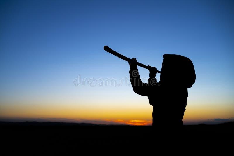 Salto del Horn tradizionale fotografia stock