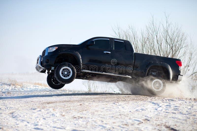 Salto do caminhão fotografia de stock royalty free