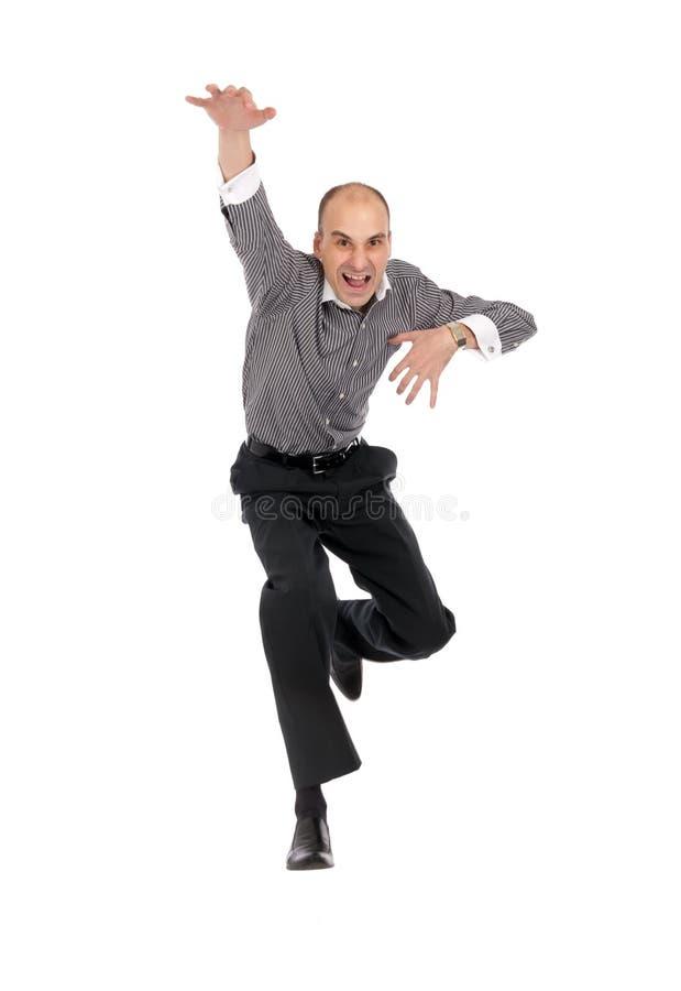 Download Salto Dos Homens De Negócio Foto de Stock - Imagem de escritório, pessoa: 16872496