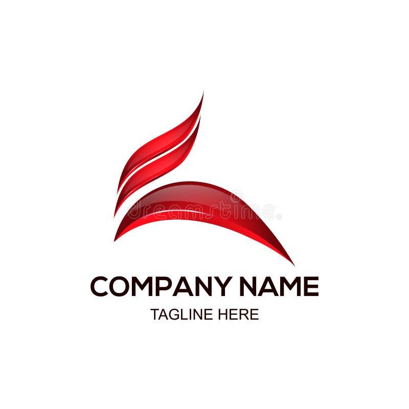 Salto e projeto de corrida do logotipo foto de stock royalty free