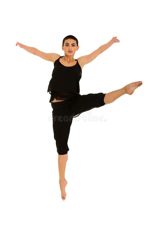 Download Salto Femenino Del Bailarín Foto de archivo - Imagen de flexible, dentro: 42428056
