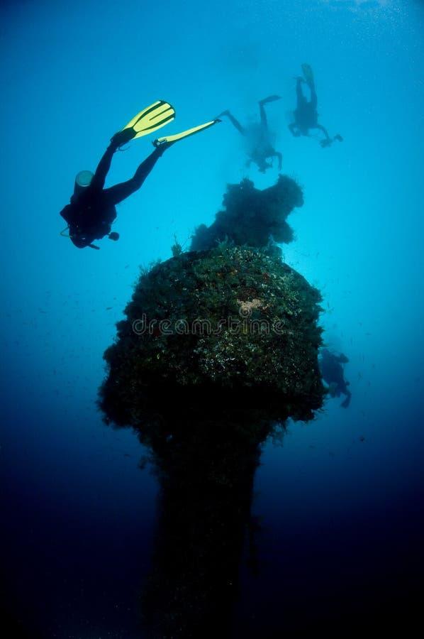 Salto, ruina de Rosalie Moller en el Mar Rojo imagen de archivo