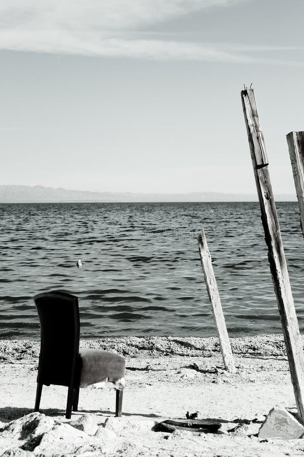 Salton overzeese stoel stock fotografie