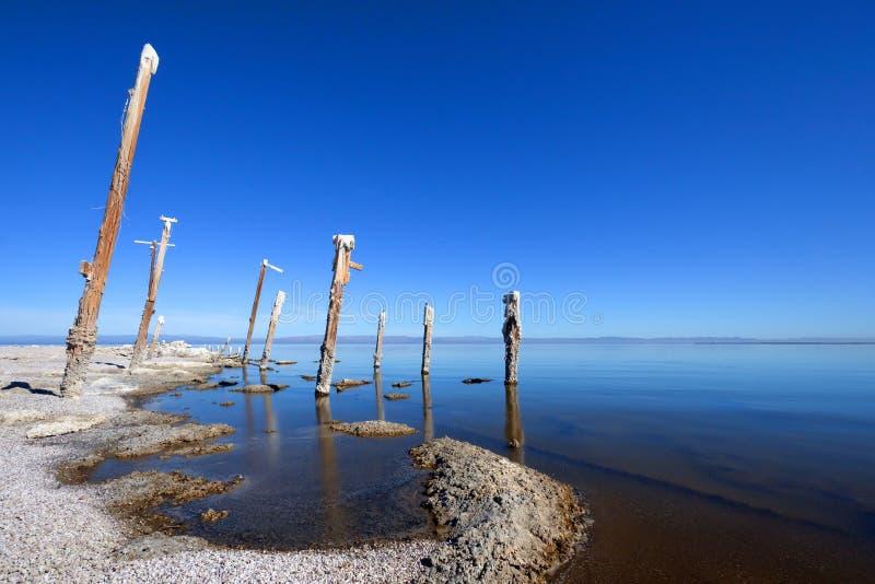 Salton Sea Stock Image