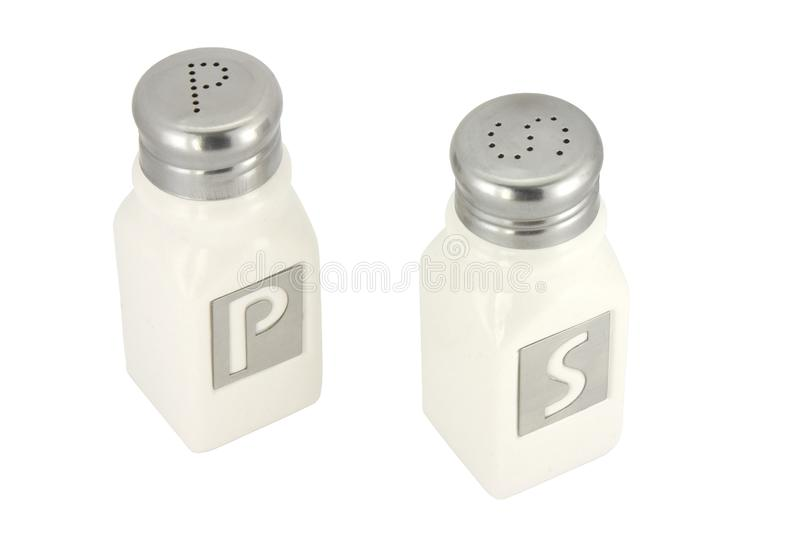 Saltshaker and pepper container