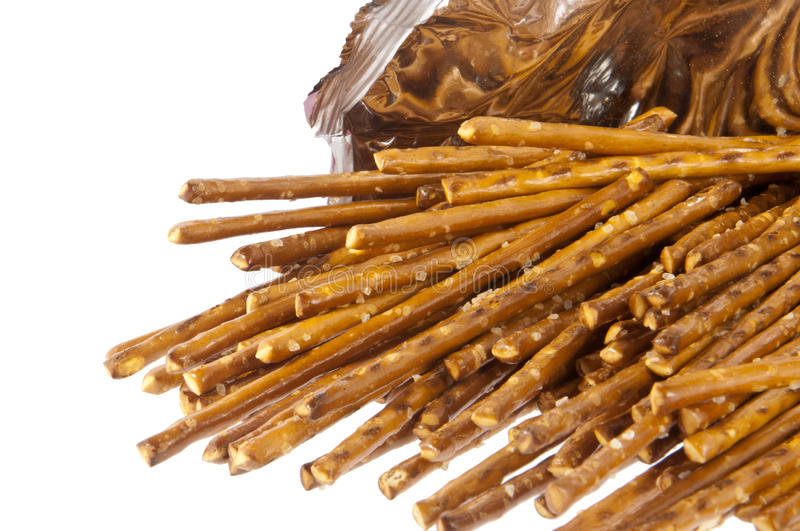 Download Saltsticks In A Bag (with Clipping Path) Stock Image - Image of heap, party: 23468735