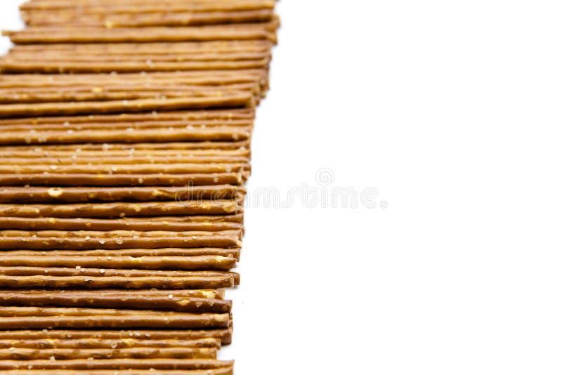 Saltsticks a mordiscar fotografía de archivo libre de regalías
