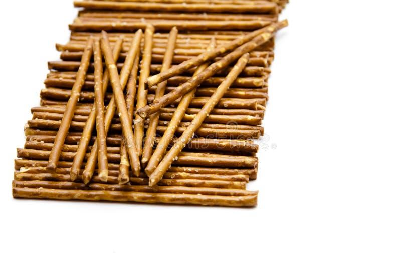 Saltsticks to nibble stock images
