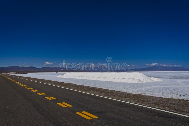 Saltworks av Jujuy fotografering för bildbyråer
