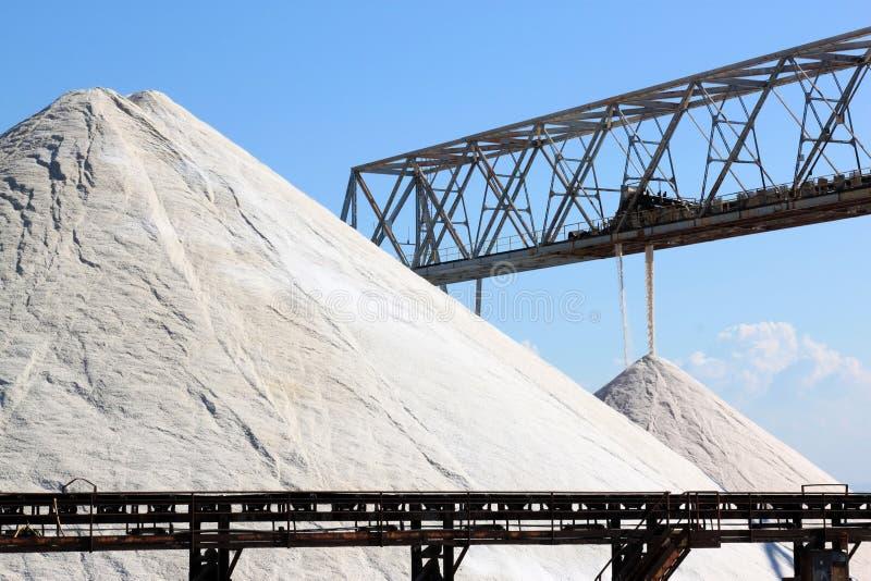 Saltworks de Margherita di Savoia, Itália imagem de stock royalty free
