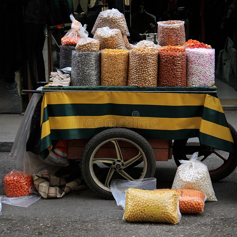 Free Salty And Sweet Cart, Tripoli Stock Image - 106381971